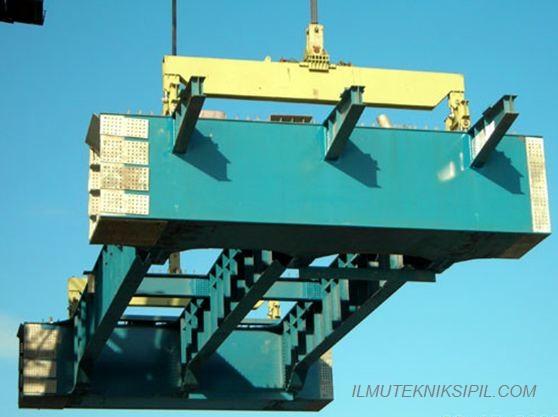 Metode Pemasangan Gelagar Pada Jembatan 1