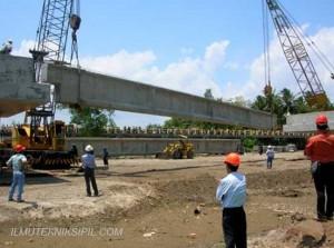 Metode Pemasangan Gelagar Pada Jembatan 3