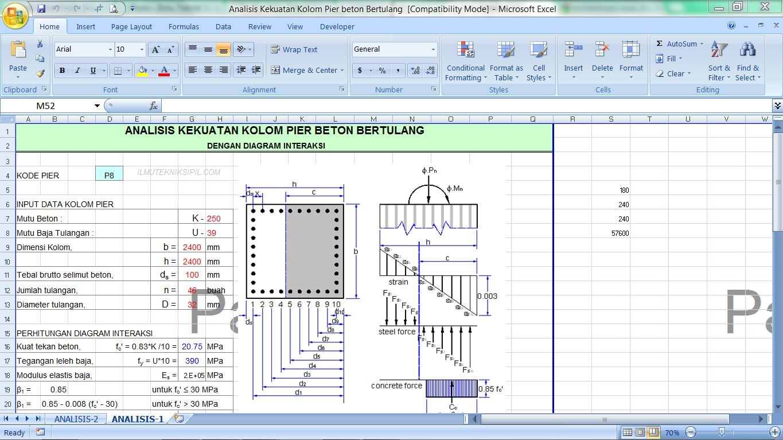 Analisis kekuatan kolom pier beton bertulang seri 3 analisis kekuatan kolom pier beton bertulang seri 3 ccuart Choice Image
