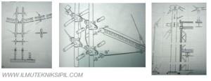 Detail Konstruksi Pada Tipe Masted Structure