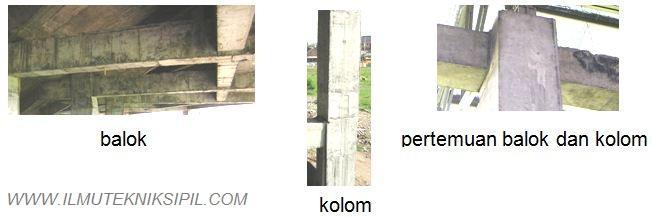 Detail Konstruksi Pada Tipe Portal