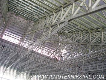 Struktur Rangka Baja GOR UNY