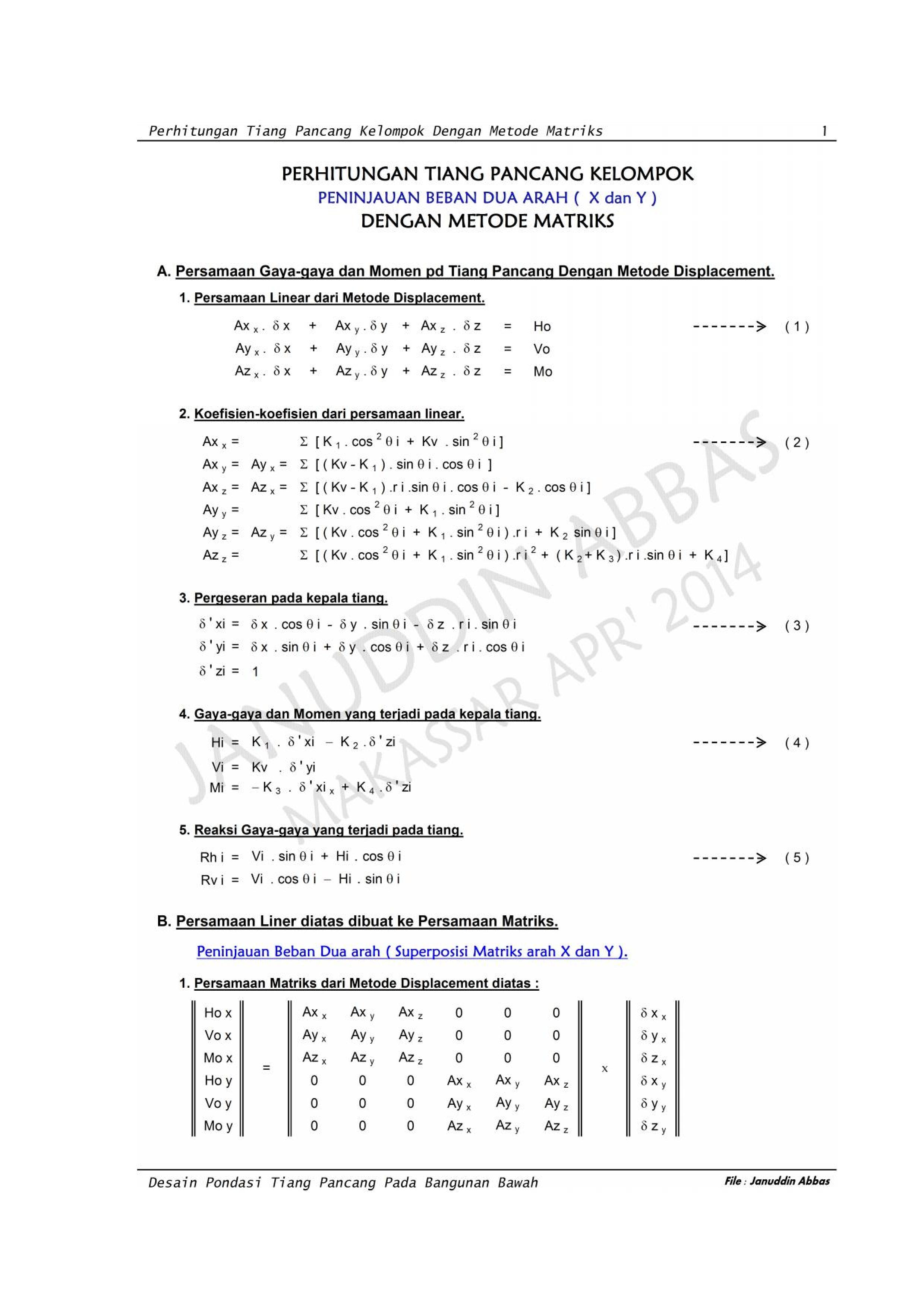 Perh. T. Pancang Dgn. Metode Matrix_003