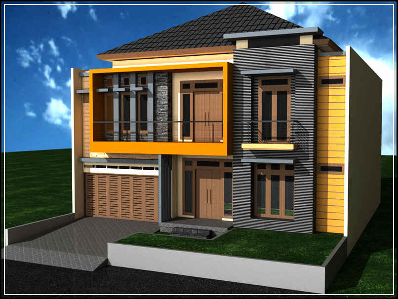 gambar kontruksi rumah minimalis desain rumah