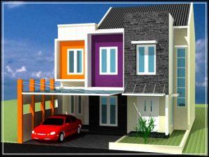 desain rumah minimalis modern 01