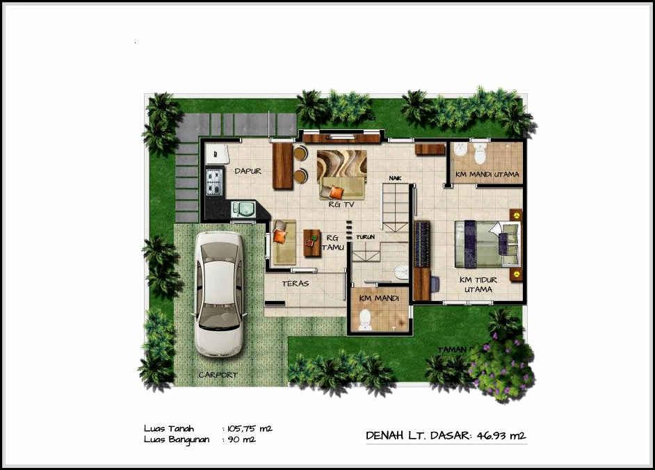 desain rumah minimalis modern-32