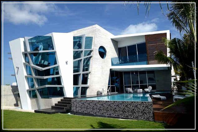 Desain Rumah Modern Minimalis 1 Lantai Gaya Tropis Ilmutekniksipil Com