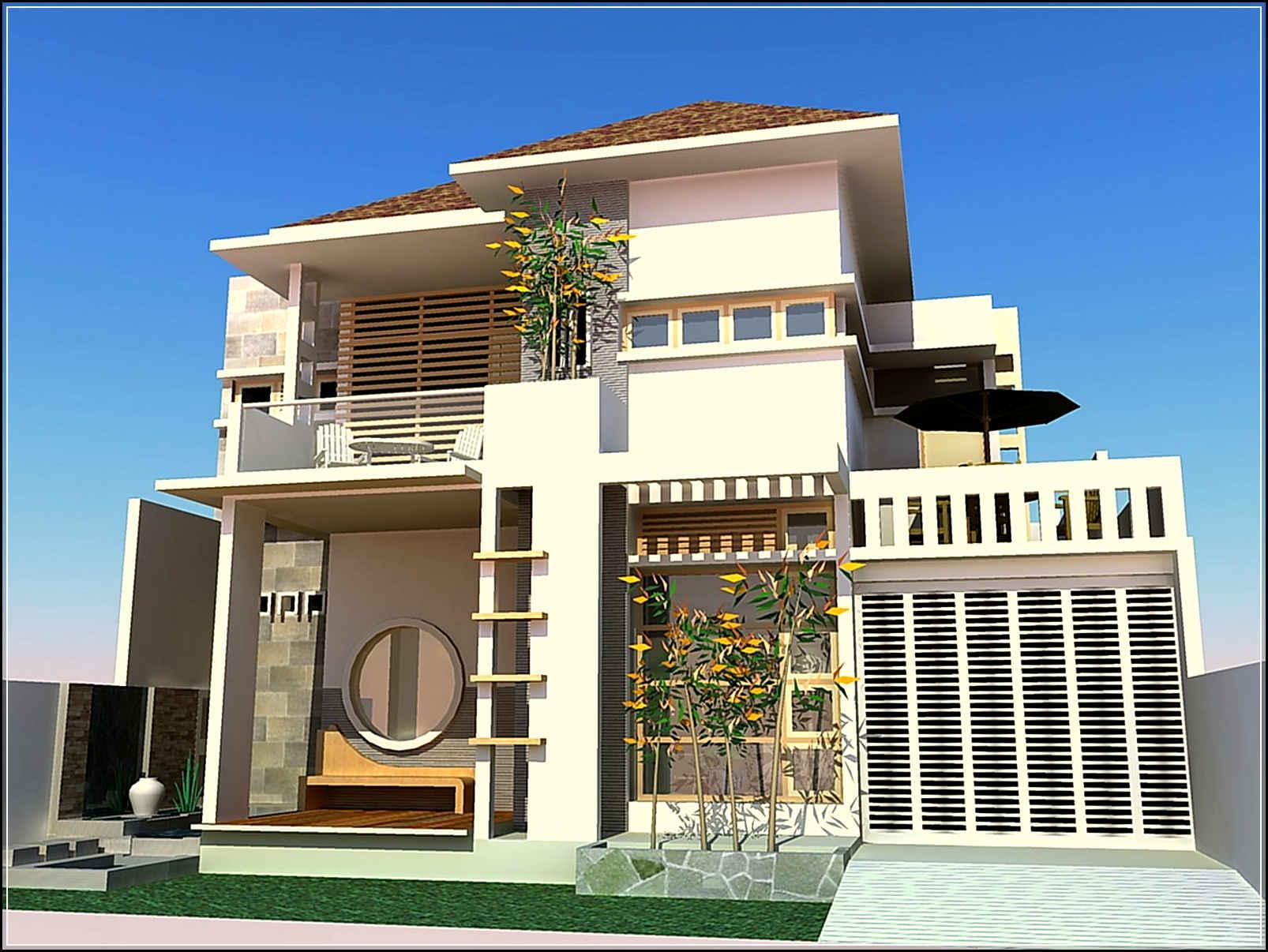 desain rumah modern-22