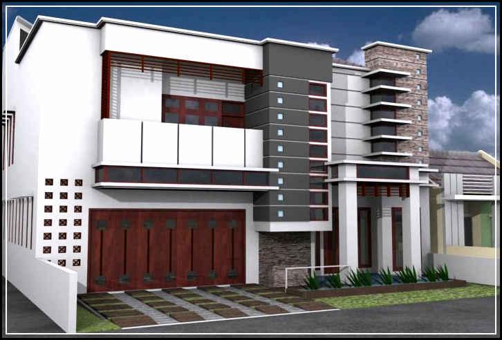 desain rumah modern-35