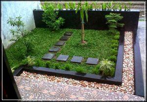 taman minimalis depan rumah 09