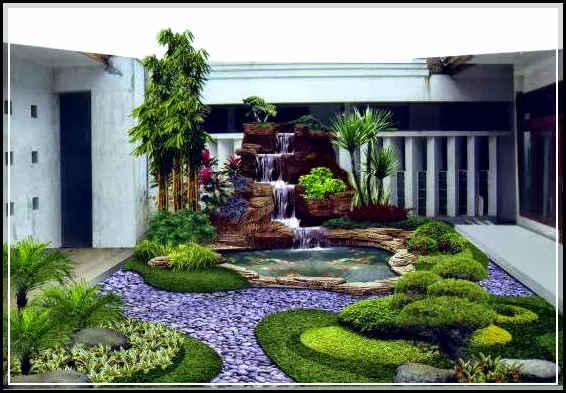 480 Koleksi Desain Taman Rumah Luas HD Terbaik