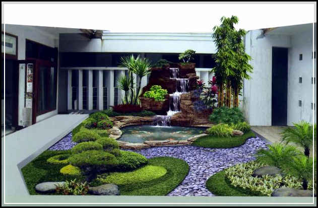 taman rumah minimalis-06