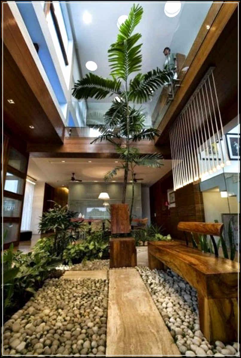 Desain Taman Dalam Rumah Yang Indah Dan Minimalis