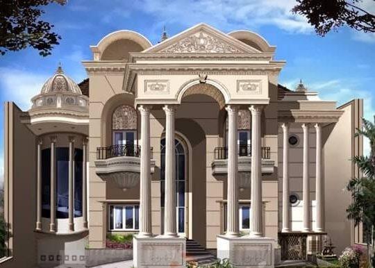 Desain Rumah Mewah Konsep Mediterania ilmutekniksipil