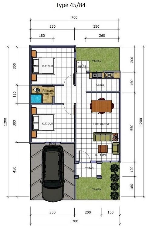44 Koleksi Desain Taman Sederhana Depan Rumah Terbaru