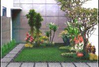 desain taman depan rumah 12