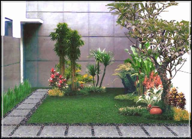 Desain Taman Depan Rumah Minimalis Berlahan Sempit