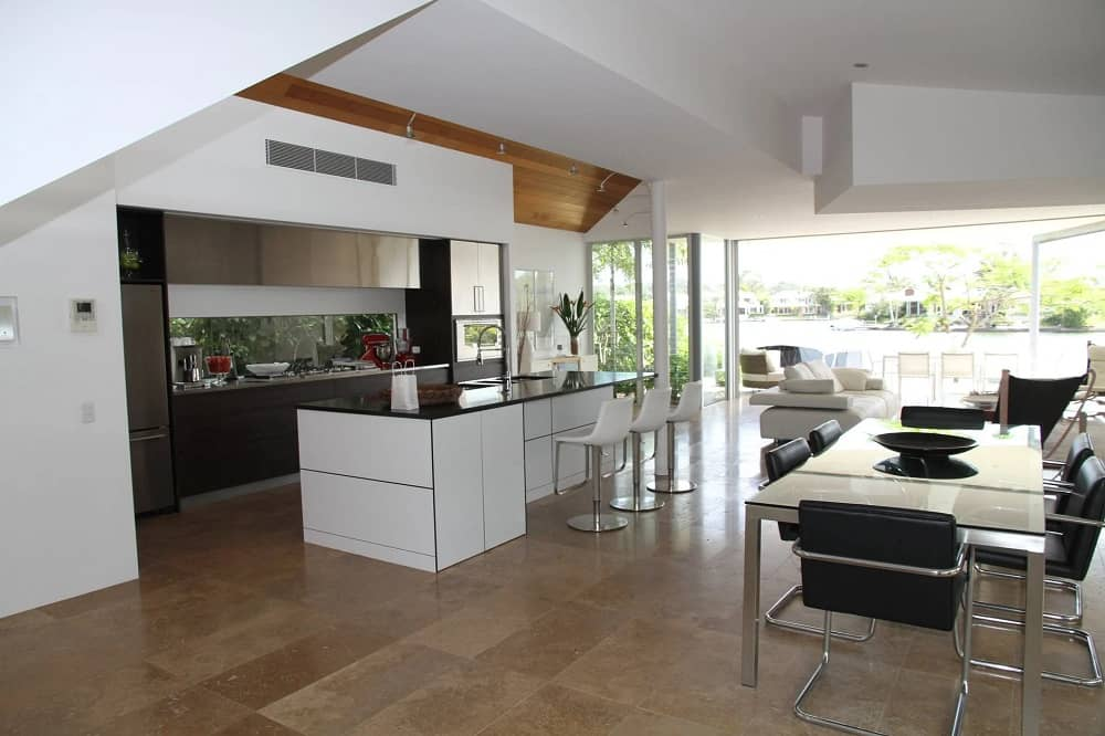 Desain Dapur dan Ruang Makan Terbuka yang Inspiratif